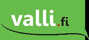 Valli.fi logo.